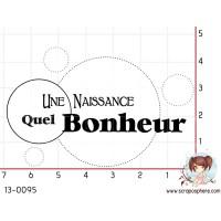 TAMPON UNE NAISSANCE QUEL BONHEUR par F-rose