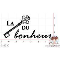 TAMPON LA CLE DU BONHEUR par Decopeaux