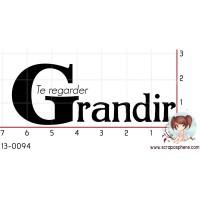 TAMPON TE REGARDER GRANDIR par F-rose