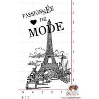 TAMPON FOND PASSIONNEE DE MODE PARIS par Lily Fairy