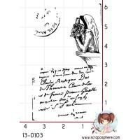 TAMPON TAG GARGOUILLE par Lily Fairy