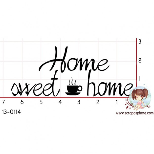 TAMPON HOME SWEET HOME par Choupyne
