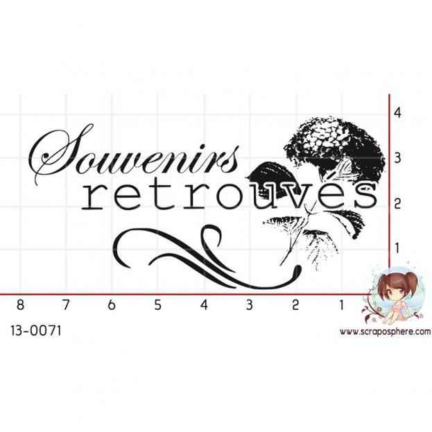 TAMPON SOUVENIRS RETROUVES par Decopeaux