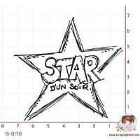 TAMPON ETOILE STAR D UN SOIR par Ghis