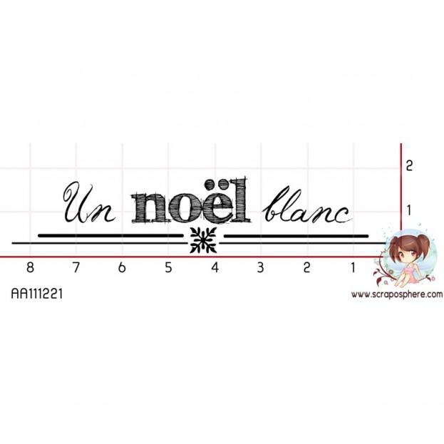 TAMPON NOEL BLANC par Choupyne