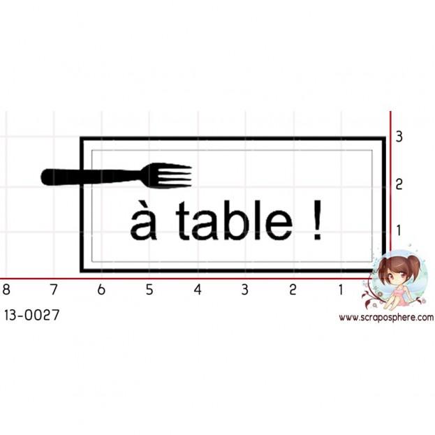 TAMPON A TABLE par Soph10