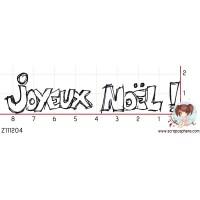 TAMPON JOYEUX NOEL par Ghis