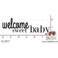 TAMPON WELCOME SWEET BABY par Binka