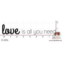 TAMPON LOVE IS ALL YOU NEED (grand) par Binka