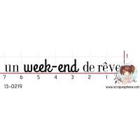 TAMPON UN WEEK END DE REVE par Binka