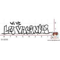 TAMPON VIVE LES VACANCES par Ghis