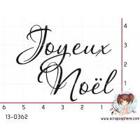 TAMPON JOYEUX NOEL (grand) par Lily Fairy