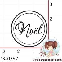 TAMPON ROND NOEL par Lily Fairy