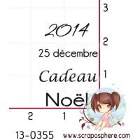 TAMPON 2014 25 DECEMBRE CADEAU NOEL par Lily Fairy