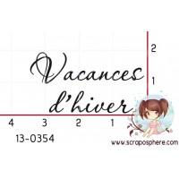 TAMPON VACANCES D HIVER par Lily Fairy