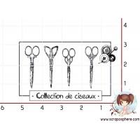 TAMPON COLLECTION DE CISEAUX (petit) par Ana Salgado Aguiar