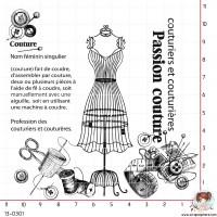 TAMPON DEFINITION COUTURE par Ana Salgado Aguiar