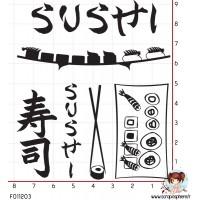 6 TAMPONS SUSHI