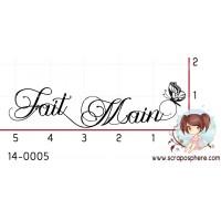 TAMPON FAIT MAIN PAPILLON par Lily Fairy