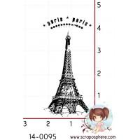TAMPON TOUR EIFFEL PARIS par Lily Fairy