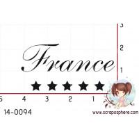 TAMPON France ETOILES par Lily Fairy