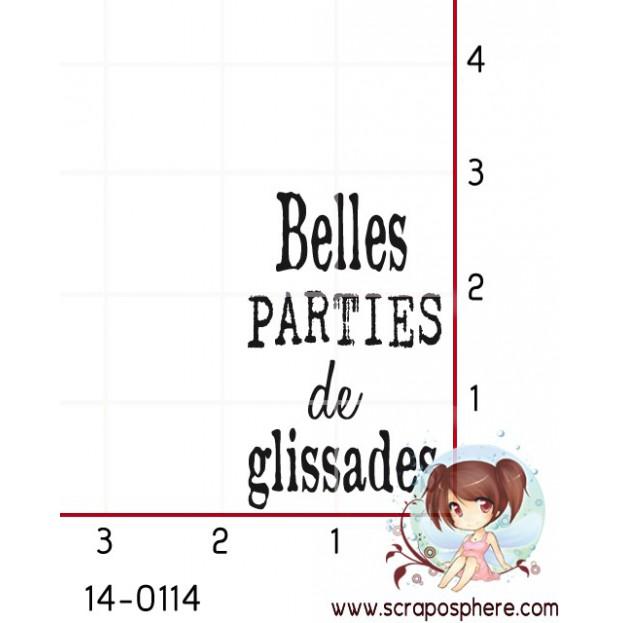 TAMPON BELLES PARTIES DE GLISSADES par Ln