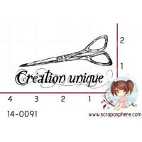 TAMPON CREATION UNIQUE AUX CISEAUX par Lily Fairy