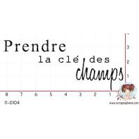 TAMPON PRENDRE LA CLE DES CHAMPS par Mauxane