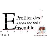 TAMPON PROFITER DES MOMENTS ENSEMBLE par Binka