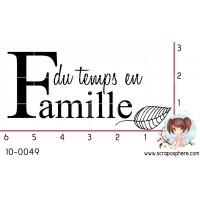 TAMPON DU TEMPS EN FAMILLE par Binka