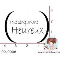TAMPON TOUT SIMPLEMENT HEUREUX par Lymatry
