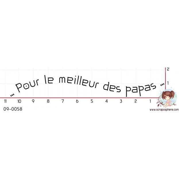TAMPON POUR LE MEILLEUR DES PAPAS par Lily Fairy