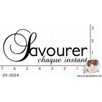TAMPON SAVOURER CHAQUE INSTANT par Soph10