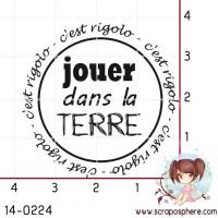 TAMPON JOUER DANS LA TERRE par Crearel