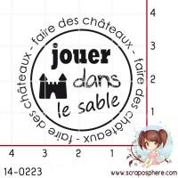 TAMPON JOUER DANS LE SABLE par Crearel