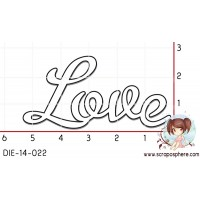 DIE SCRAPOSPHERE - LOVE par Lily Fairy