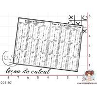 TAMPON FOND LECON DE CALCUL
