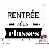 TAMPON RENTREE DES CLASSES par Lily Fairy