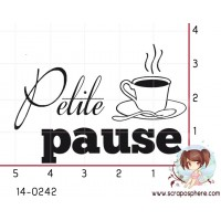 TAMPON PETITE PAUSE CAFE par Lily Fairy
