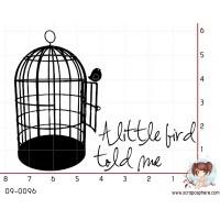 TAMPON A LITTLE BIRD TOLD ME par Binka