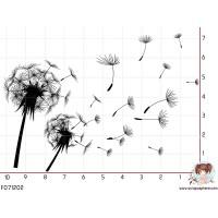 TAMPON DANDELION PISSENLIT par Lily Fairy
