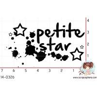 TAMPON PETITE STAR par Laetitia67