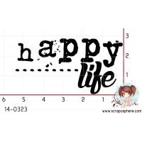 TAMPON HAPPY LIFE par Laetitia67