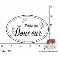 TAMPON OVALE BULLE DE DOUCEUR
