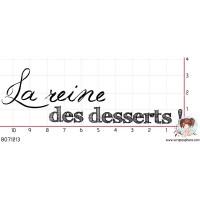 TAMPON REINE DES DESSERTS par Choupyne