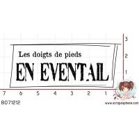 TAMPON LES DOIGTS DE PIEDS EN EVENTAIL par Ln