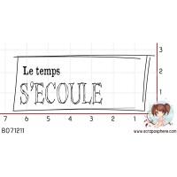 TAMPON LE TEMPS S ECOULE par Ln