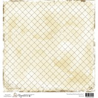 PACK 10 FEUILLES CARDSTOCK 15X15 SOMETHING OLD - MAGNOLIA