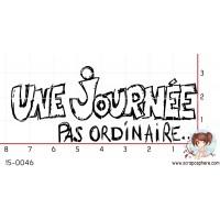 TAMPON UNE JOURNEE PAS ORDINAIRE par Ghis