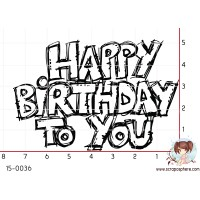 TAMPON HAPPY BIRTHDAY TO YOU par Ghis